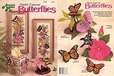Annie's Attic Plastic Canvas Butterflies