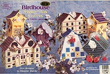 ASN Plastic Canvas Birdhouse Tissue Covers
