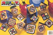 Annie's Attic Plastic Canvas Quilt Mugs & Mats