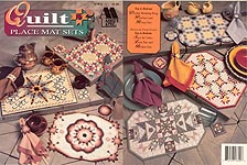 Annie's Attic lastic Canvas Quilt Place Mat Sets