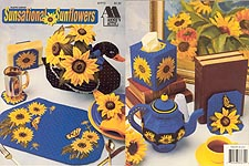 Annie's Attic Plastic Canvas Sunsational Sunflowers