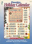 HWB Plastic Canvas Country Holiday Calendar