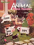 TNS Plastic Canvas Animal House Numbers