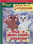 TNS Plastic Canvas Beary Merry Christmas
