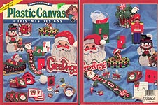 California Country Plastic Canvas Christmas Designs