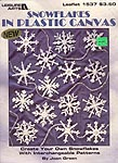 LA Snowflakes in Plastic Canvas