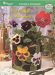TNS Plastic Canvas Collector's Series Pot Full of Pansies