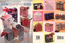 TNS Plastic Canvas Show Your Style Boxes