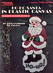 LA Ho- Ho Santa in Plastic Canvas (Holiday Doors Book 3)