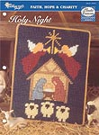 TNS Plastic Canvas Collector's Series Holy Night