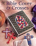 Annie's Attic Plastic Canvas Bible Cover & Crosses