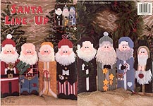 LA Plastic Canvas Santa Line- Up