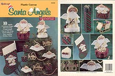TNS Plastic Canvas Santa Angels