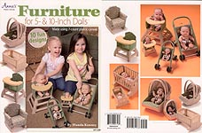 Annie's Plastic Canvas Furniture for 5- & 10- Inch Dolls