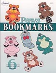 Annie's Plastic Canvas Paws Bookmarks