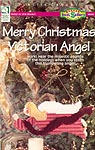 HWB Plastic Canvas Merry Christmas Victorian Angel