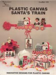 Needlecraft Ala Mode Plastic Canvas Santa's Train