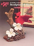 Annie's Attic Plastic Sculptured Birds: Cardinal & Dogwood