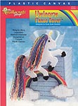 TNS Plastic Canvas Unicorn Tissue Cover