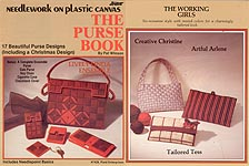 Plaid Ent. Needlework on Plastic Canvas: The Purse Book