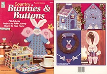 HWB Plastic Canvas Country Bunnies & Buttons