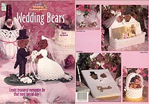 HWB Easy Holiday Centerpieces: Plastic Canvas Wedding Bears