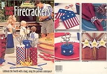 HWB Easy Holiday Centerpieces: Plastic Canvas Fourth of July Firecrackers