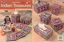 TNS Plastic Canvas Indian Treasures