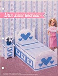 Annie's Fashion Doll Plastic Canvas Club: Little Sister Bedroom