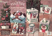 TNS Plastic Canvas Yuletide A- Moose- Ment