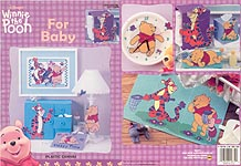 LA Winnie The Pooh for Baby in Plastic Canvas