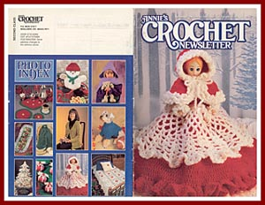 Cover of Annies Crochet Newsletter, Sept. - Oct. 1995