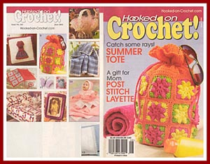 Cover of Hooked on Crochet issue containing Post Stitch Baby Layette