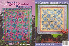 Learn to Be A Wacky-Pinwheel Quilting Wizard