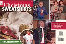 Christmas Sweatshirts to quilt