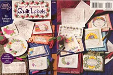 ASN Iron-On Transfers for Quilt Labels