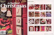 Quilter's World Presents: A Quilted Christmas