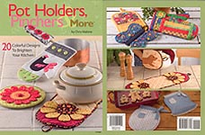 HWB SEW Pot Holders, Pinchers, & More