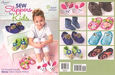 Annie's SEW Slippers for Kids