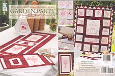 HWB QUILTING: Garden Party Stitchery