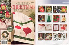 Quilter's World QUILTED Christmas Traditions