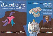 Deluxe Designs: Designing With Ultrasuede and Other Special Fabrics