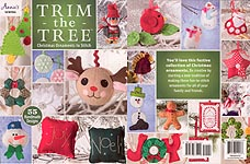 SEW Trim The Tree: Christmas Ornaments to Stitch