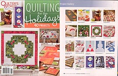 Quilter's World QUILTING For the Holidays