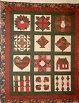 Country House Quilts Christmas Sampler Quilt