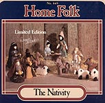 Donna Gallagher Home Folk No. 849: The Nativity
