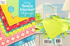 Annie's SEWING: Easy Fleece Blanket Edgings