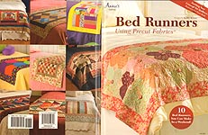 Annie's QUILTING: Bed Runners Using Precut Fabrics