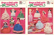 Mangelsen's Dress- A- Doll with Ribbons