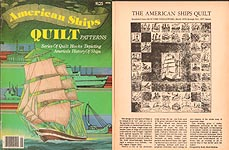 Olde Time Needlework American Ships QUILT Patterns